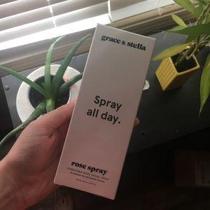 Rose facial spray